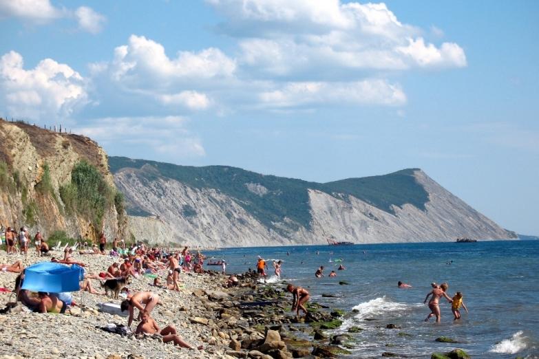 Дикий пляж в Анапе