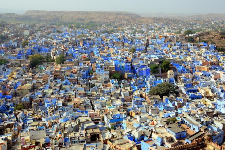 Синий город Джодхпур