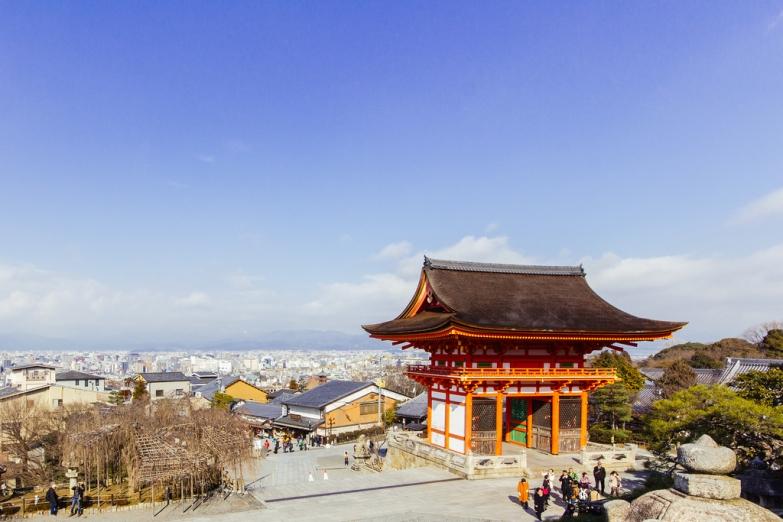 Панорама Киото