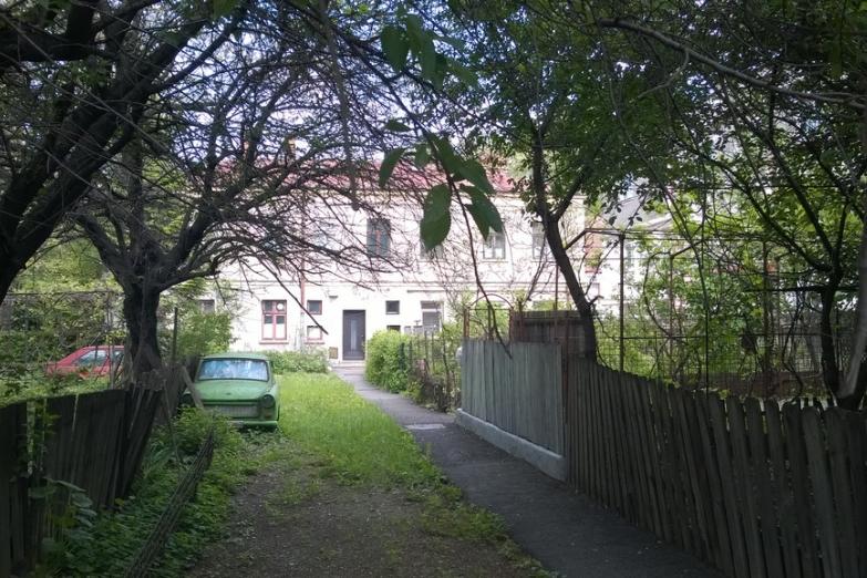 На окраине Бухареста