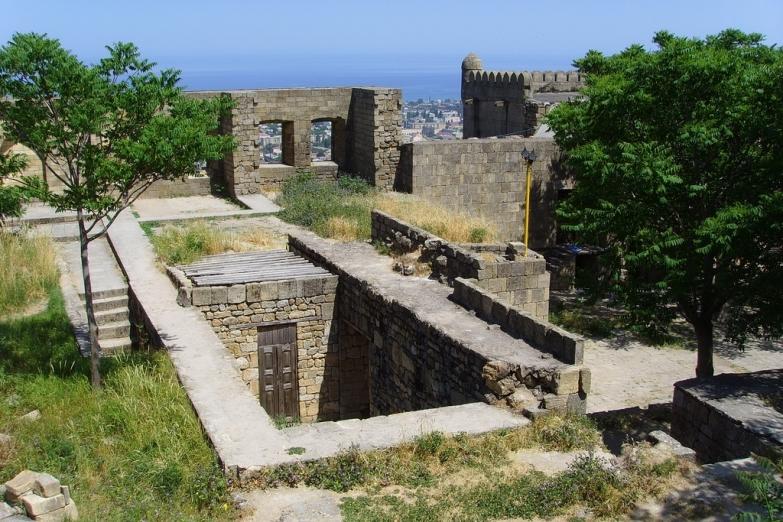Внутри крепости Нарын-Кала