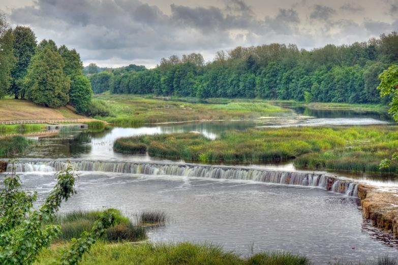 Водопад Вента