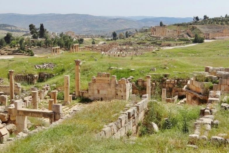 Руины в Джераше