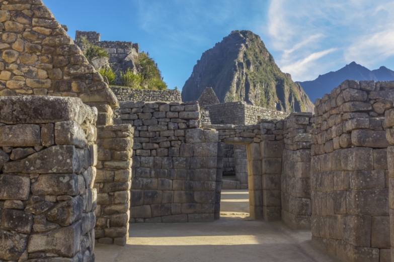Жилые кварталы в Мачу-Пикчу