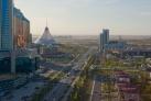 Вид на центральные улицы Астаны