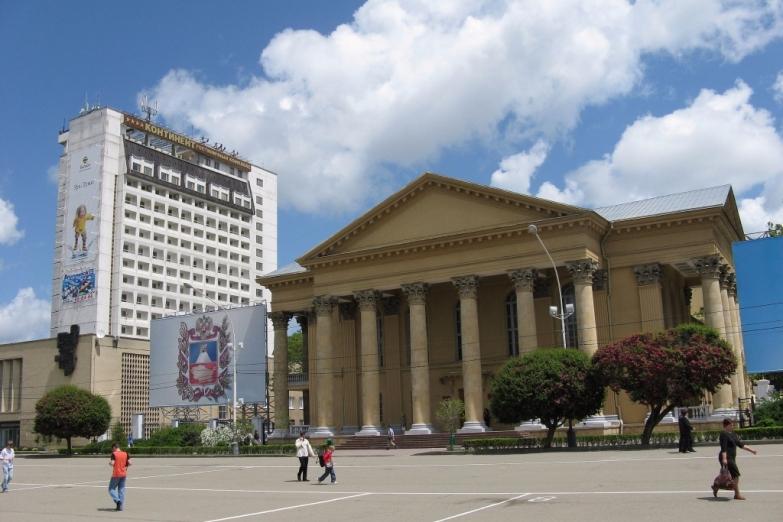 Площадь в Ставрополе