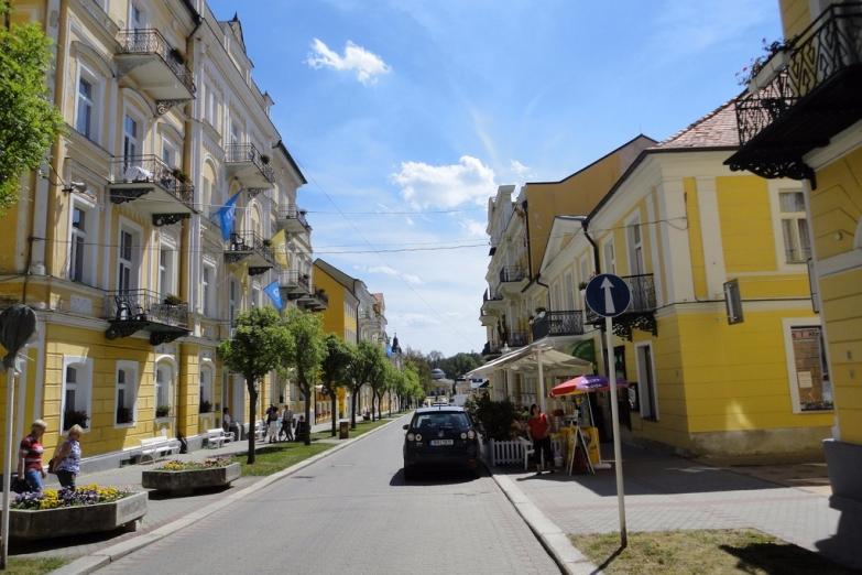 Центральные улицы города