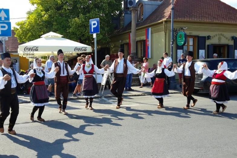 Народные гуляние в Сентендре
