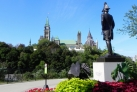 Статуя Дж. Бая в парке Мейджорс-Хилл