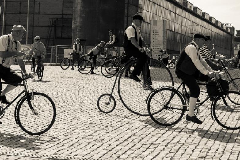Фестиваль велосипедистов в Остраве
