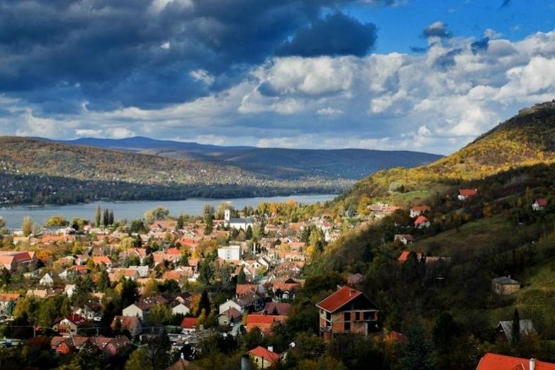 Панорамный вид на Вишеград