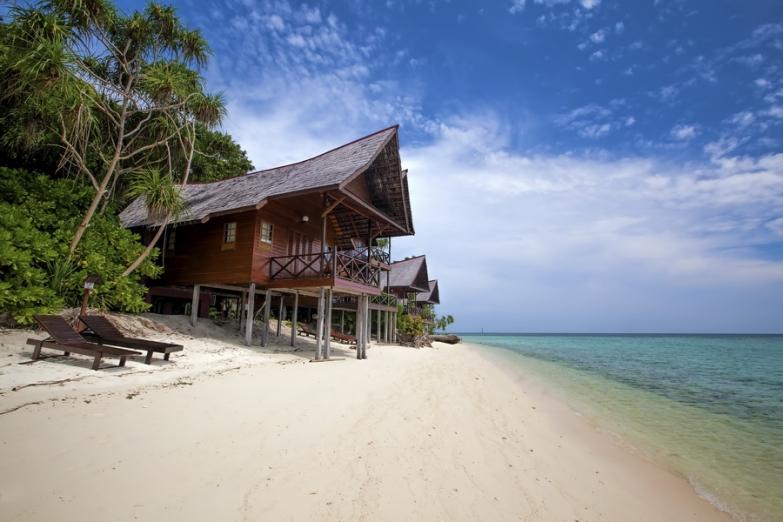 Остров Ланкаян на Борнео