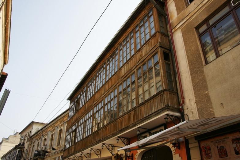 Деревянные балконы старых домов