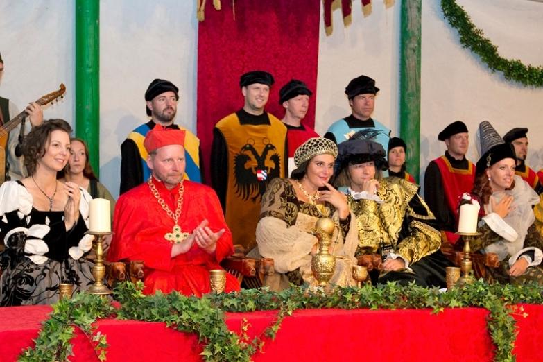 Придворный праздник императора Максимилиана I