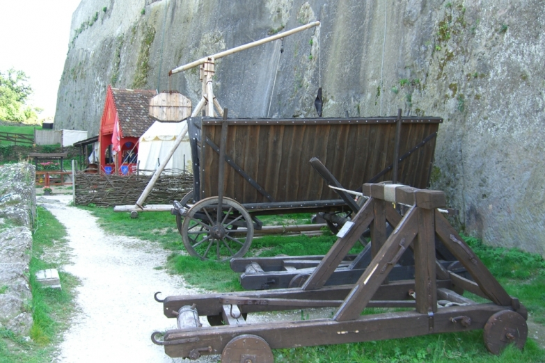 Историческая экспозиция замка