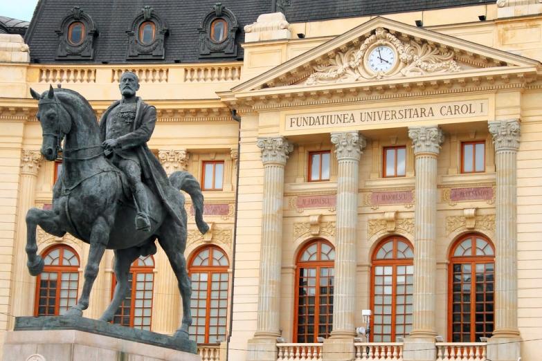 Памятник Каролю I в Бухаресте