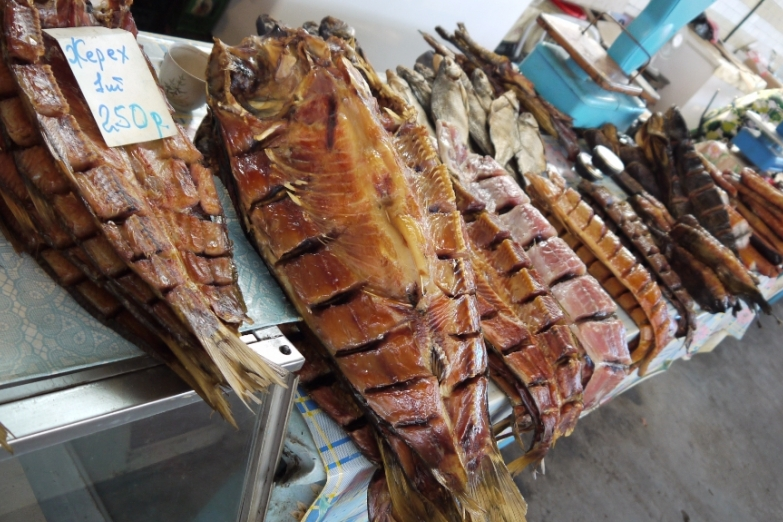 Копченая рыба в Астрахани