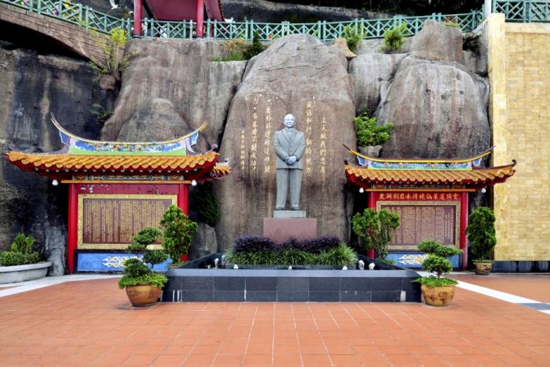 Храм пещеры Чин-Суи на Пенанге