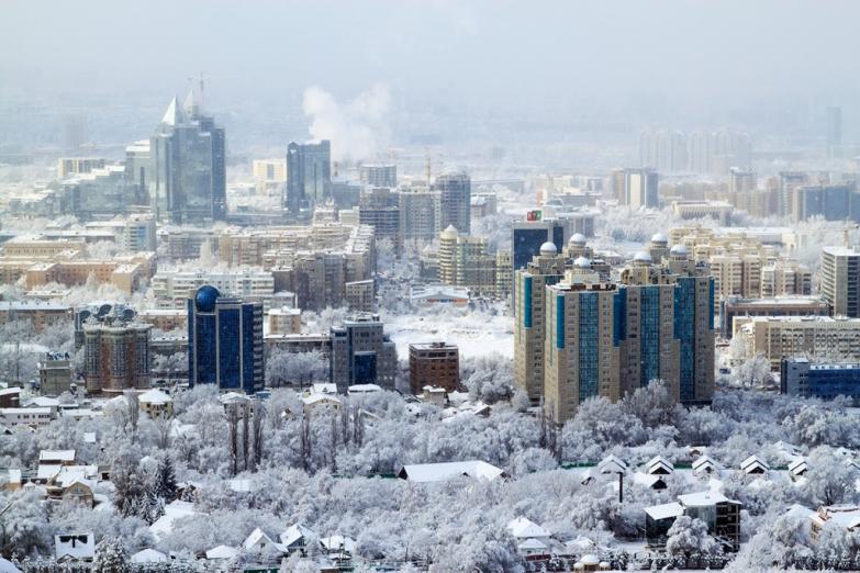 Зима в Алма-Ате