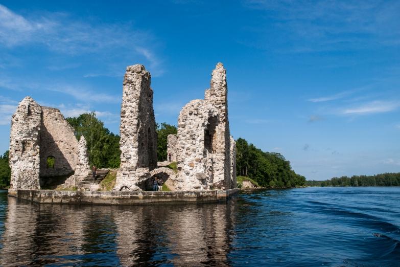 Развалины Кокнесского замка