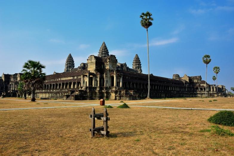 Сухой сезон в Ангкоре