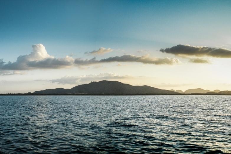 Вид на остров Хувентуд
