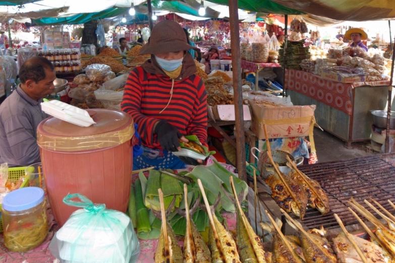 Торговля на crab market