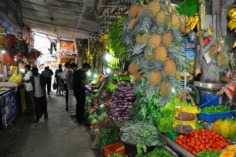 Рынок в Нувара-Элии