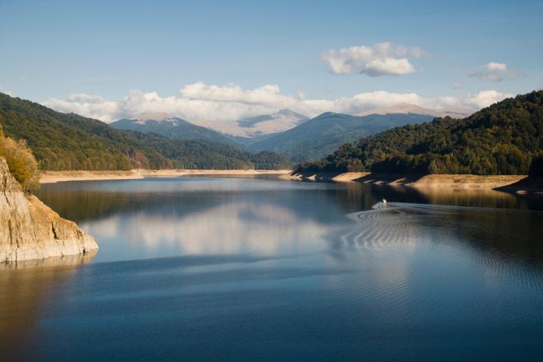Озеро в окрестностях Трансфагараша