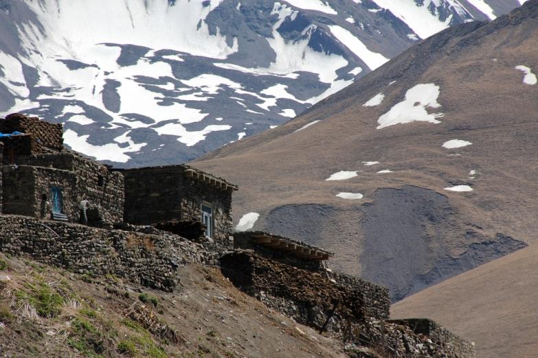 Старинное горное поселение