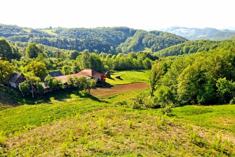 Сельская местность в Румынии