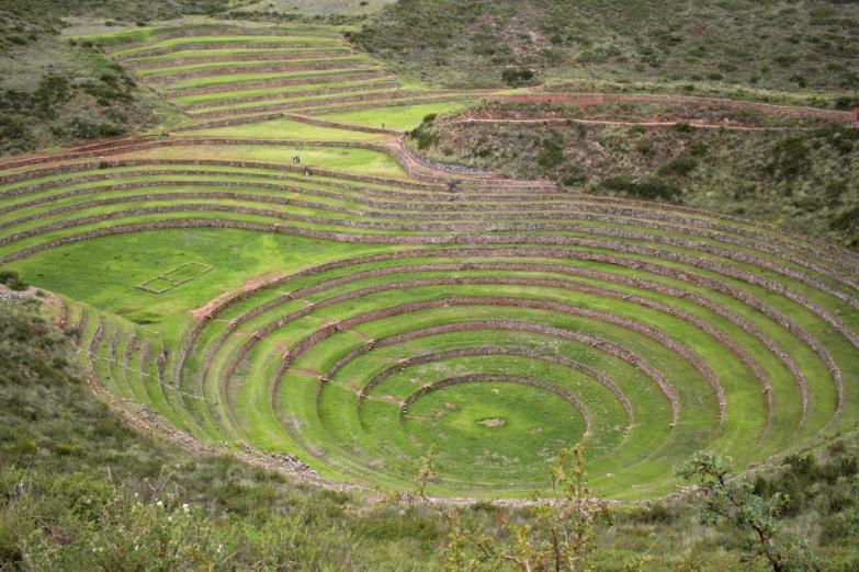 Земледельческие террасы в долине Урубамба