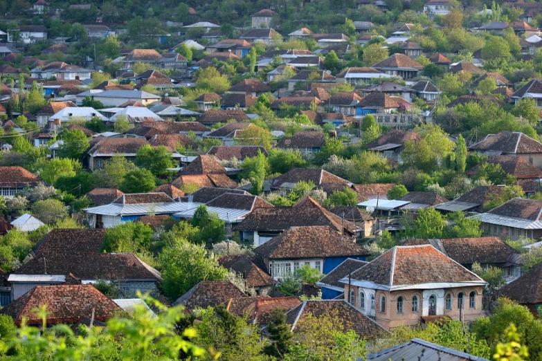 Азербайджанский поселок