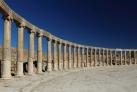 Древняя колоннада в Джераше
