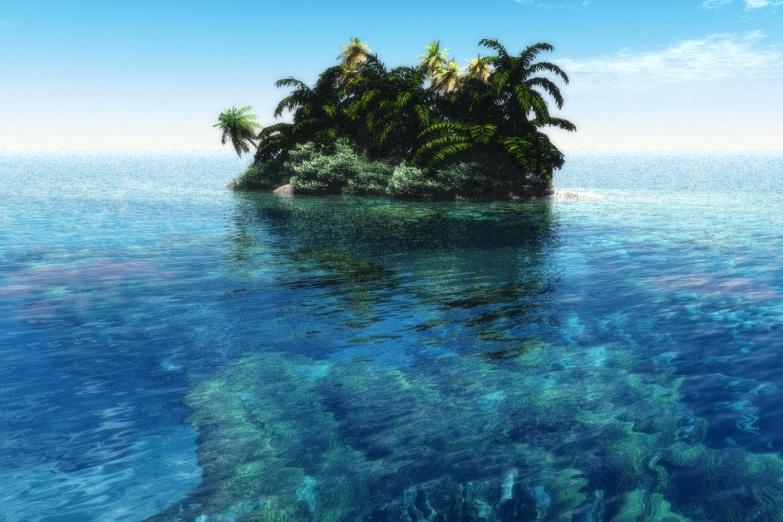 Необитаемый островок