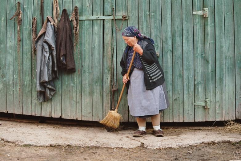 Руимынская крестьянка