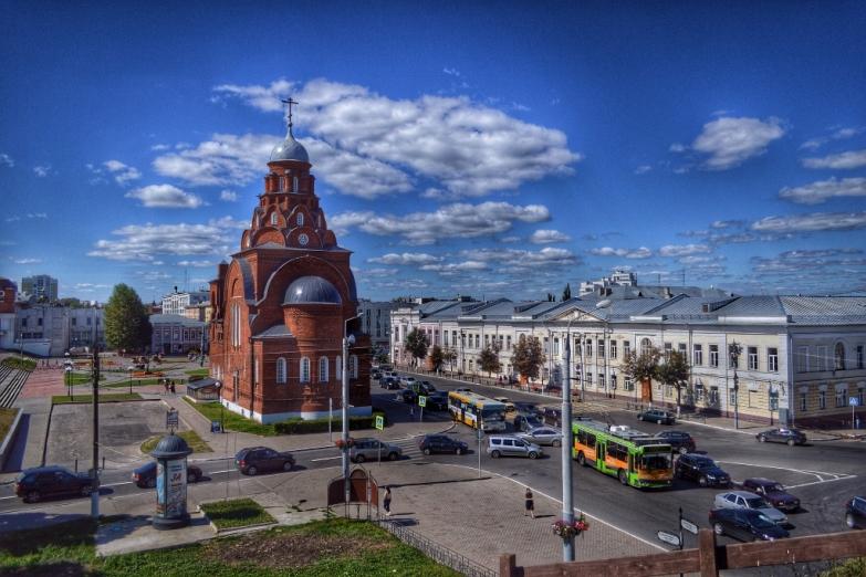 Центр Владимира