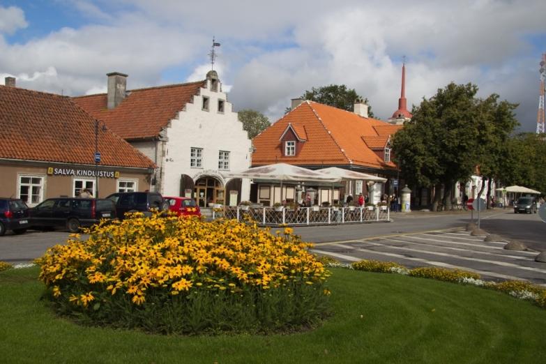 Городская площадь в Курессааре