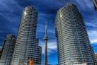 Телебашня и небоскребы Торонто