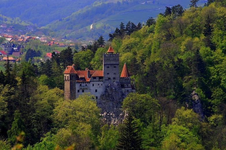 Замок Бран - здесь бывал Влад Цепеш