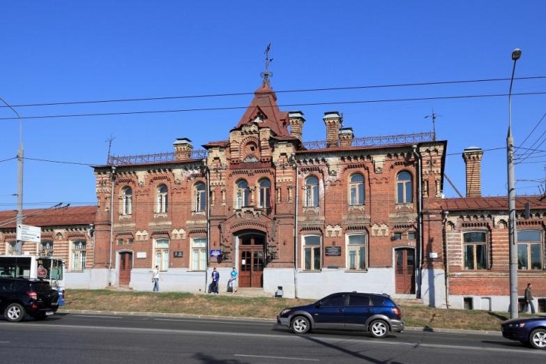 Старинная архитектура во Владимире