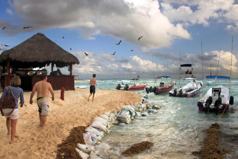 Пляж Плайя-дель-Кармен