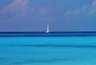 Вид на море с острова Кайо-Ларго
