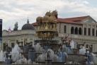 Фонтан на центральной площади Кутаиси
