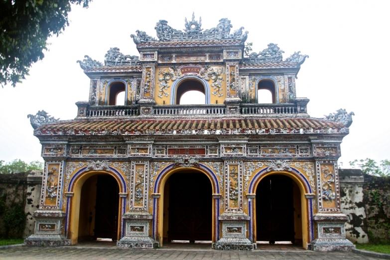 Главные ворота Императорского дворца