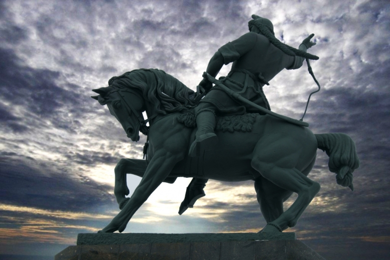 Памятник Салавату Юлаеву в Уфе