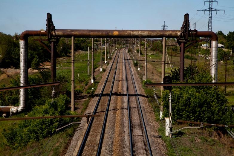 Железная дорога в Караганду