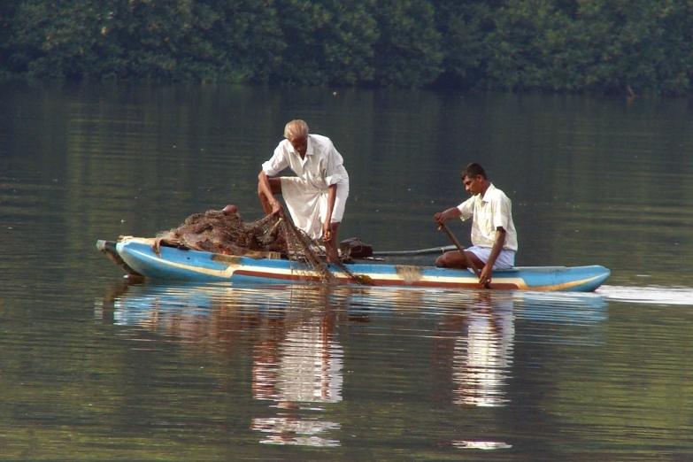 Рыбная ловля на реке Бентота