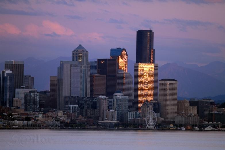 Панорама Сиэтла