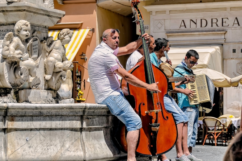 Музыканты в Амальфи